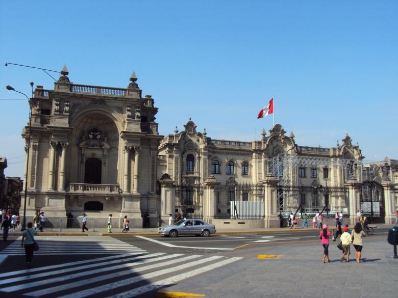 Palacio Presidencial en Lima