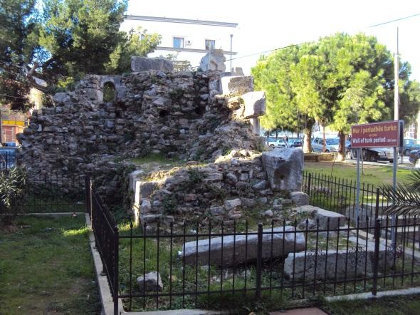 Ruinas del período turco de Durrës