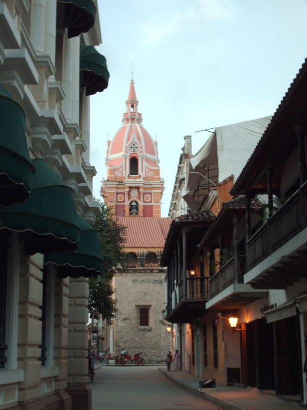 En las calles de Cartagena