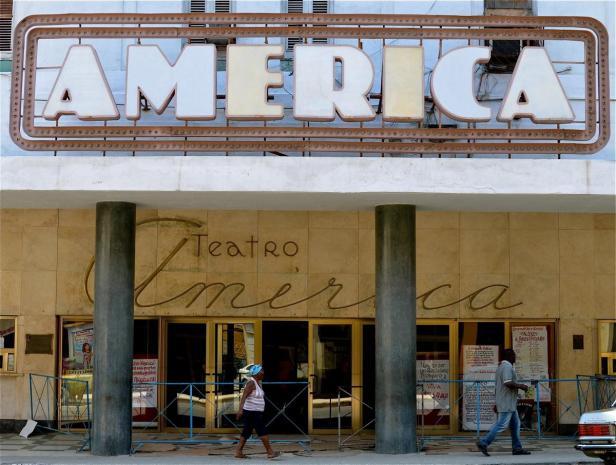 Teatro América en La Habana, Cuba (Fuente)