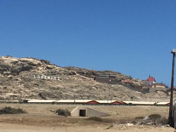 Al mejor estilo de Hollywood, con ustedes: Lüderitz, Namibia