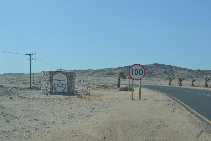 Bienvenidos a Lüderitzbucht, Namibia