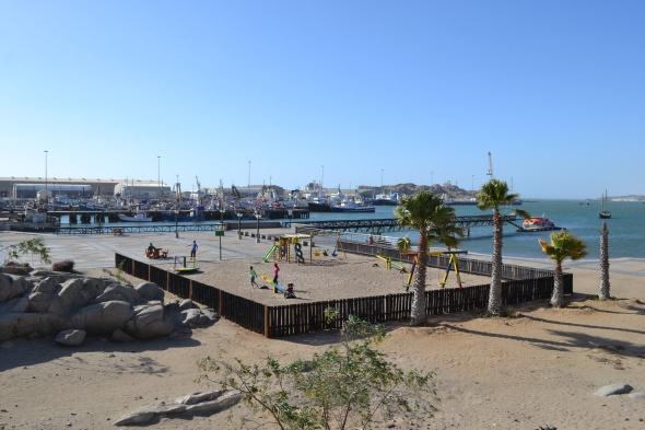 Frente al mar en Lüderitz