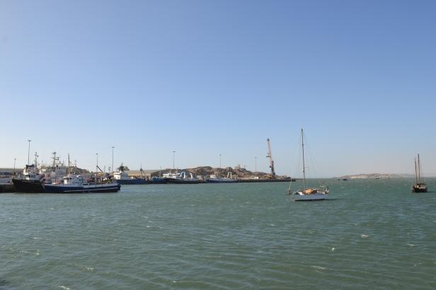 Shark Island vista desde Lüderitz