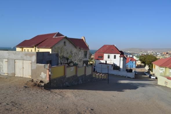 Lüderitz desde la Felsenkirche