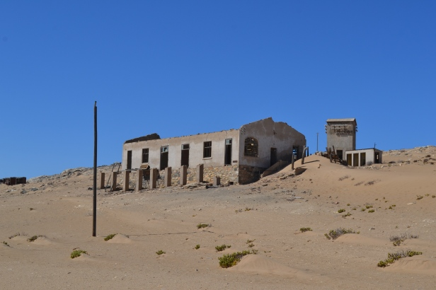 Antigua alcaldía de Kolmanskop