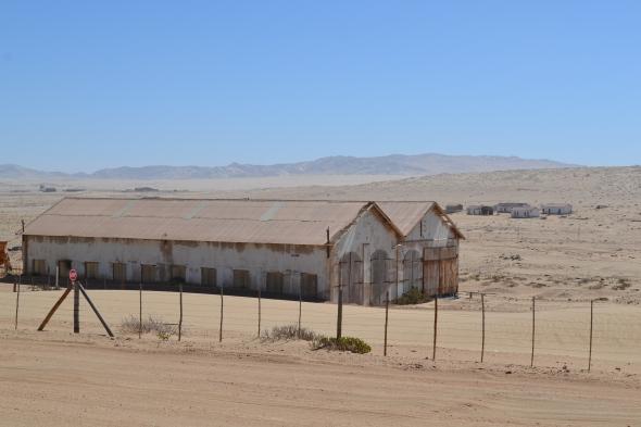 Edificios donde concentraban a los antiguos trabajadores por 40 días