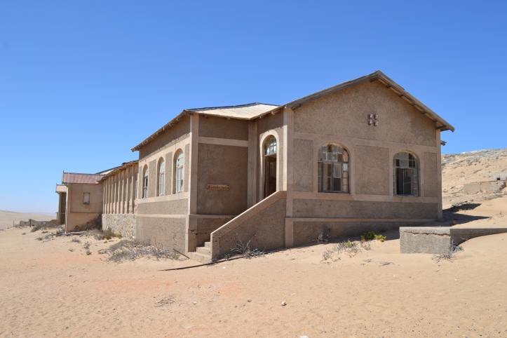 Antiguo hospital de Kolmanskop