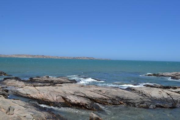 Bahía de Lüderitz desde Shark Island