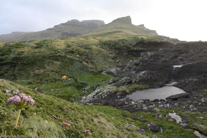 Tent camp, Adams Island K Rexer-Huber