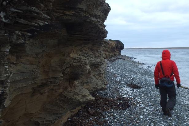 Exploring the coast line