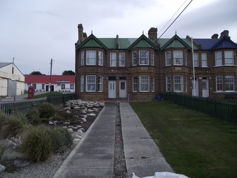 Jubilee Villas_my accommodation and office of Falklands conservation