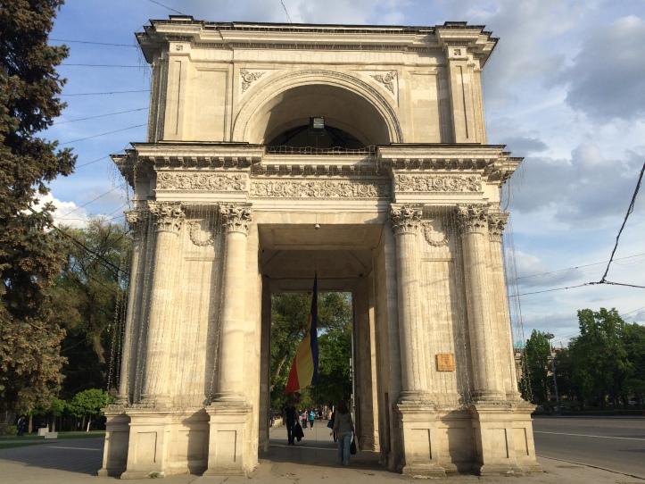 Arco del Triunfo de Chisináu