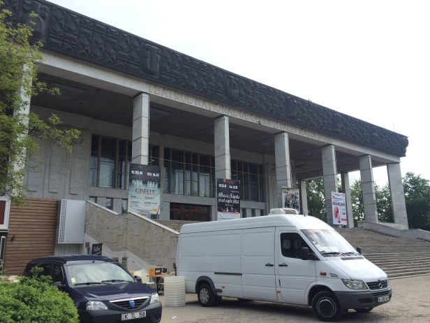 Teatro nacional en Chisináu