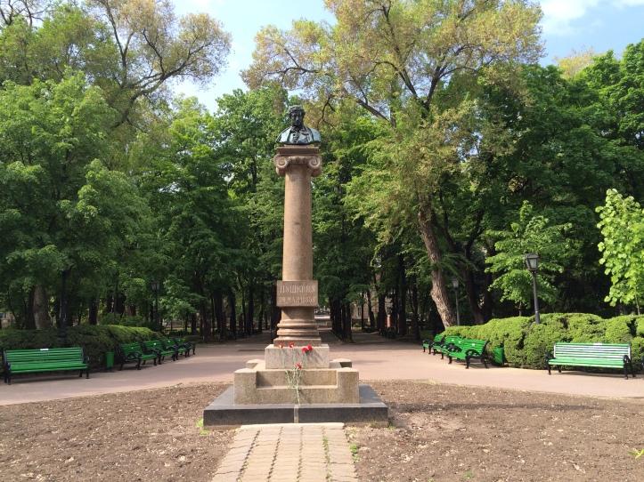 Monumento a Alexánder Pushkin