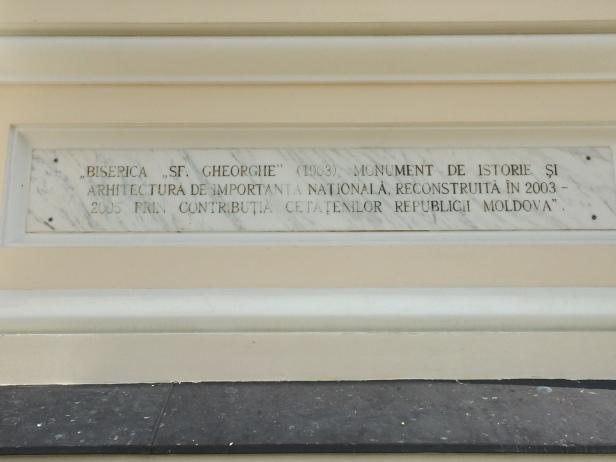 Inscripción en el Monasterio de Capriana