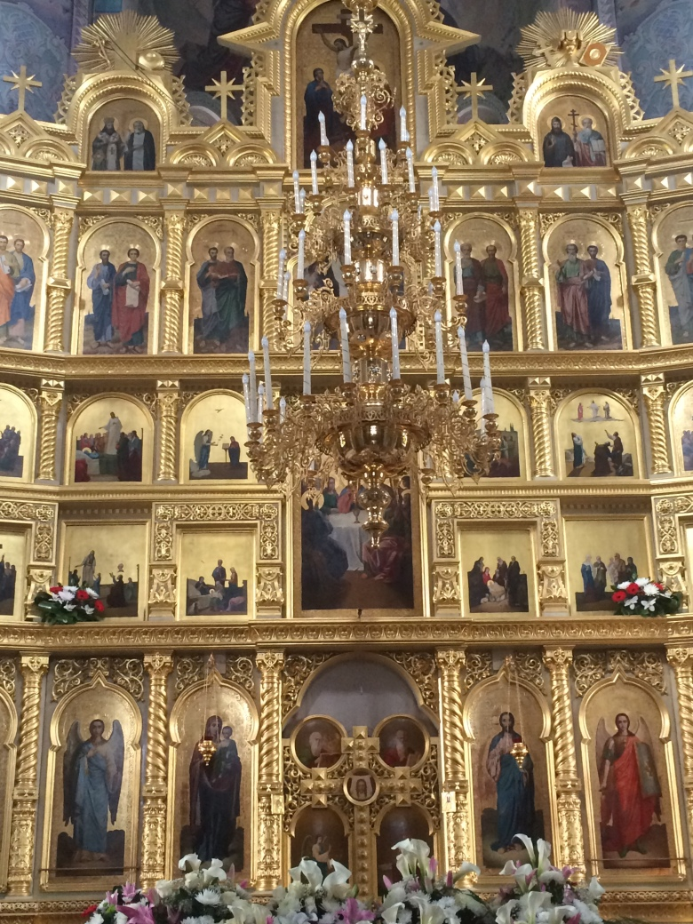 Interior del Monasterio de Capriana