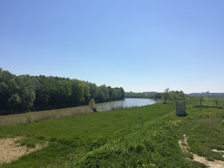 Río Prut: Aquí rumania, allá Moldavia