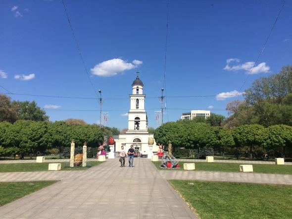 Plaza central de Chisináu