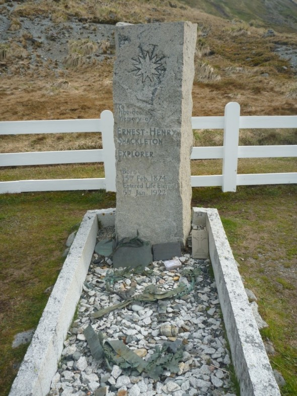 Shackleton's Grave (Grytviken) (Courtesy of James McKenna)
