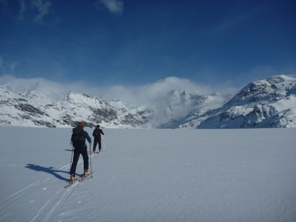 Skiing in the winter (Courtesy of James McKenna)