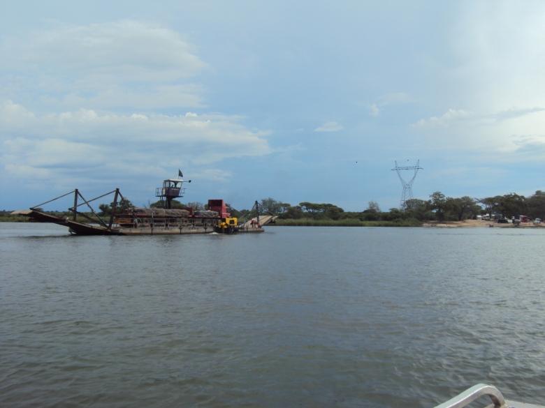 Ferry de Kazungula
