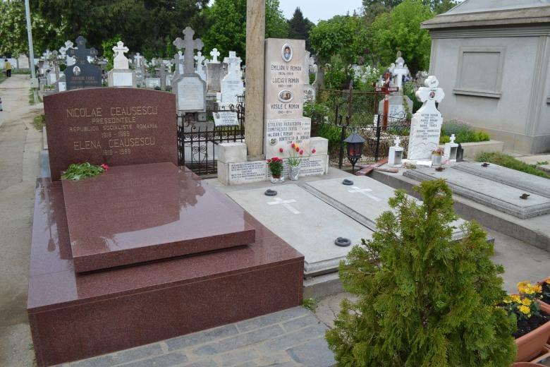 Resultado de imagen de tumba de Nicolae Ceausescu