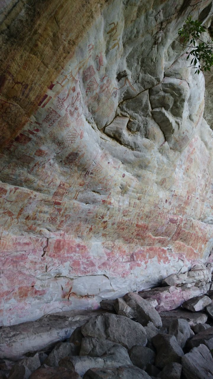 Pinturas rupestres de Nuevo Tolima Pelos