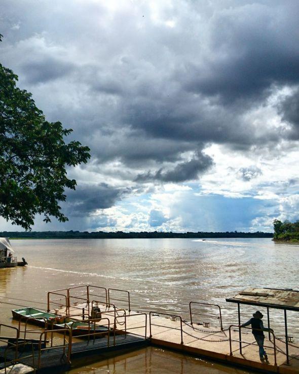 Río Guaviare en San José Pelos