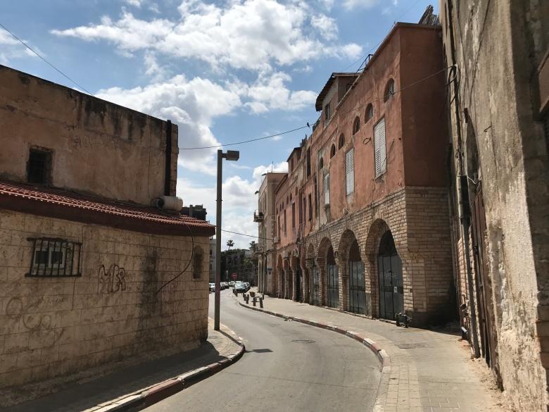 Calles del Tel Aviv viejo
