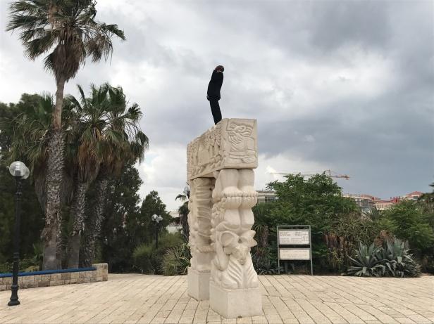 Falasha cantando en Tel Aviv