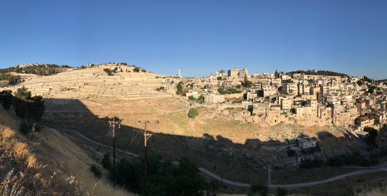Jerusalén y el monte de los Olivos