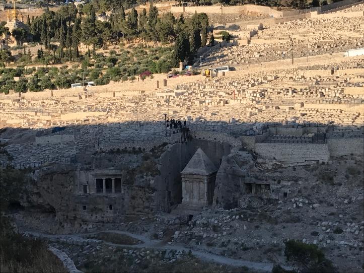 Tumba de Zacarías a los pies del Monte de los Olivos