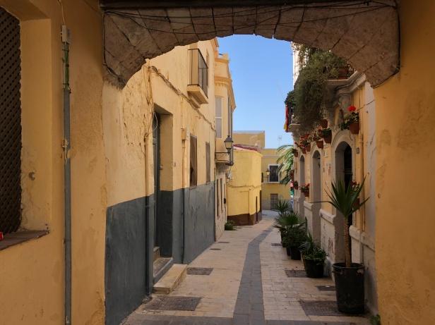 Calles de Melilla la Vieja