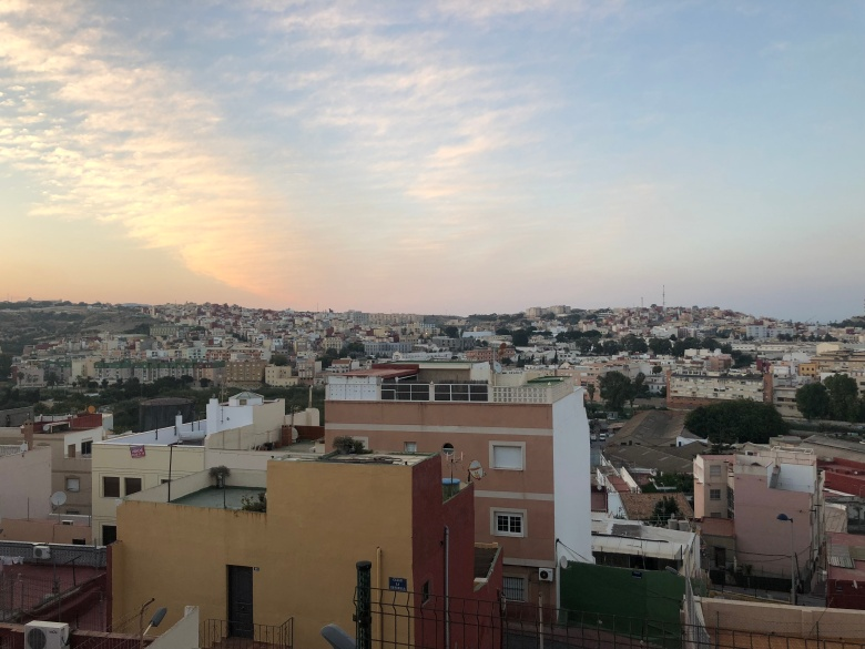 Panorámica de Melilla al atardecer (2)