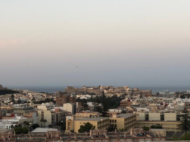 Panorámica de Melilla al atardecer (3)