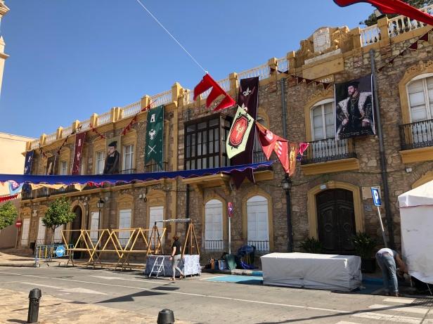 Plaza en Melilla la Vieja