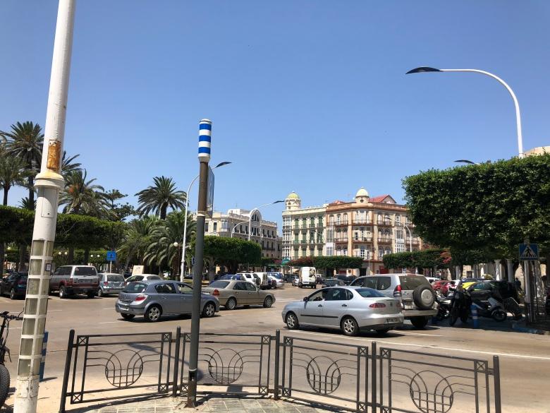 Plaza principal de Melilla