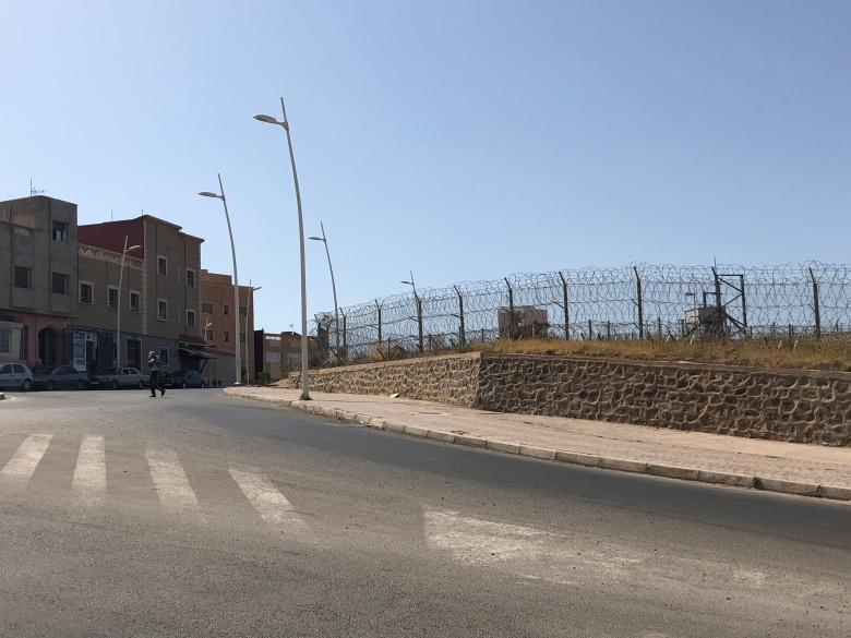 Valla desde Marruecos 2