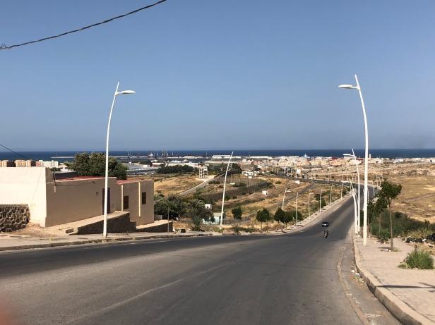 Valla desde Marruecos