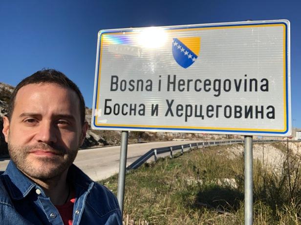 1. Entrando en Bosnia