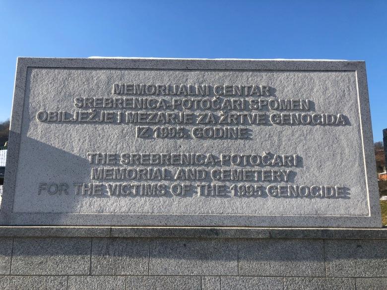 52. Memorial de Srebrenica