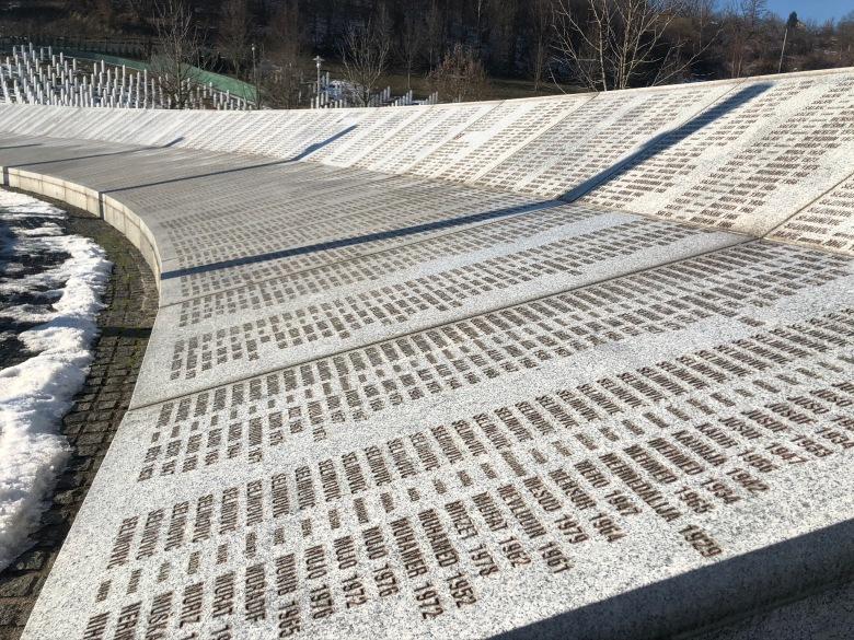 55. Memorial de Srebrenica